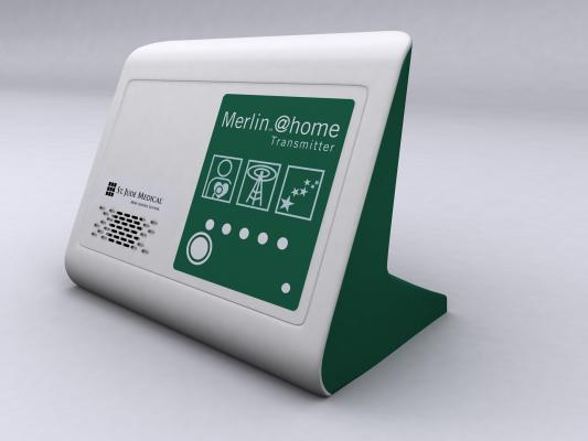 St. Jude Medical, Merlin, remote monitoring, lower costs, hospitalizations, HRS