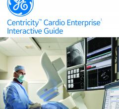 The Centricity Cardio Enterprise (CCE) Interactive Guide offers information on GE's cardiovascular information system (CVIS)