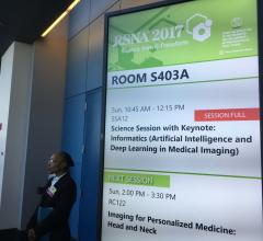 RSNA Offers First U.S. Spotlight Course on Artificial Intelligence