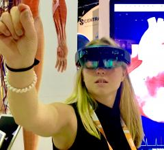 Augmented and virtual reality for patient and clinical education, as well as advanced imaging was a big trend at HIMSS 2019.