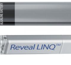 The Medtronic Reveal Linq implantable cardiac monitor (ICM) was used in the SMART-MI study. It is inserted under the skin in a simple, fast outpatient procedure. The device is smaller than a AAA battery.