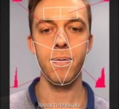Screen grab of facial scan from the app. Image courtesy of Kang Lee.