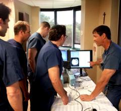 simulators cath lab aneurism repair TCT 2013 simbionix procedure rehearsal