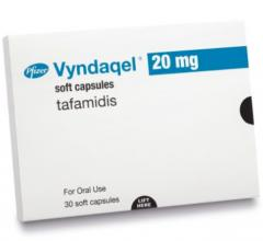 Tafamidis meglumine (Vyndaqel) is one of two new drugs cleared by the FDA for the treatment of the cardiomyopathy caused by transthyretin mediated amyloidosis (ATTR-CM) in adults. These are the first FDA-approved treatments for ATTR-CM. U.S. Food and Drug Administration (FDA) approved tafamidis meglumine (Vyndaqel) and tafamidis (Vyndamax) capsules for the treatment of the cardiomyopathy.