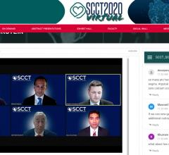 A panel discussion with some of the key opinion leaders at the recent SCCT 2020 virtual meeting. Note the questions on the left side of the screen, where attendees were able to interact with the speakers. #SCCT2020 #yesCCT