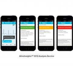 cardiac diagnostics software mobile devices ecg monitoring services alivecor