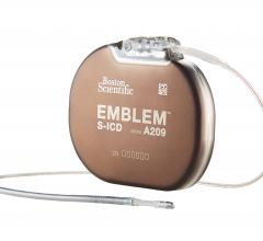 The global, prospective, non-randomized UNTOUCHED study evaluated the safety and efficacy of the Boston Scientific Emblem S-ICD System – the only approved implantable defibrillator without wires touching the heart –  for primary prevention of sudden cardiac death specifically in patients with a left ventricular ejection fraction (LVEF) ≤35 percent, the most common population to be indicated for ICD therapy. #Heartrhythm2020 #HRS20 #HRS2020