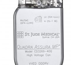 St. Jude Medical, Quadra Asssura CRT-D, Quadra Assura MP, MR conditional labeling, CE Mark