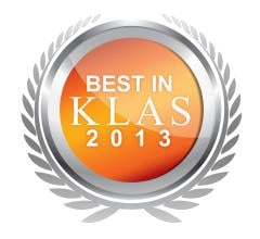 Best in KLAS 2013 Software Service Cardiology
