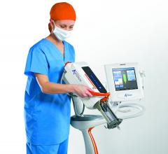 Bayer Arterion contrast media Injector used to administer medical imaging contrast for CT scans.