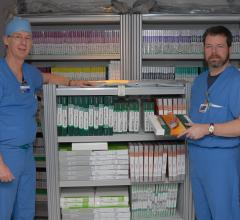 RFID inventory control in the cath lab, inventory management, cardinal