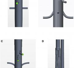 stent grafts, fluid flow model, clotting risk, Journal of Vascular Surgery