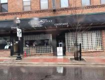 A restaurant in Marquette, Michigan, closed due to COVID-19 and a state mandate to close all non-essential businesses in and effort to contain the virus. Photo by Nicole Harrington