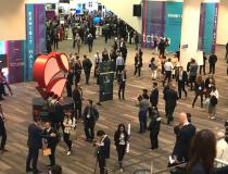 An overview of the main hallway and entrance into both the expo floor and the main arena at TCT 2019. #TCT2019 #TCT #TCT19