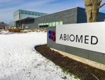 Abiomed's corporate headquarters and factory located in Danvers, Mass.