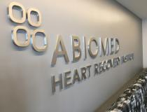 Entrance into Abiomed's Impella Training Center.