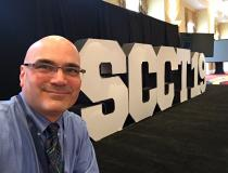 DAIC editor Dave Fornell at SCCT 2019.