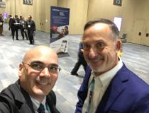 "#TCT2019 #TCT #TCT19 Right, John Carroll, M.D., director of interventional cardiology, Univerity of Colorado, met with DAIC Editor Dave Fornell between sessions at TCT 2019 this week. Carroll is one of the experts on structural heart at the conference. Here is an interview with Carroll about his program <a href=""www.dicardiology.com/videos/video-overview-university-colorado-structural-heart-program""> VIDEO: Overview of University of Colorado Structural Heart Program.</a>"