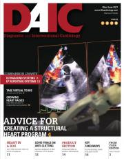 Diagnostic and Interventional Cardiology (DAIC) magazine May-June 2021 issue. Dave Fornell is the editor.