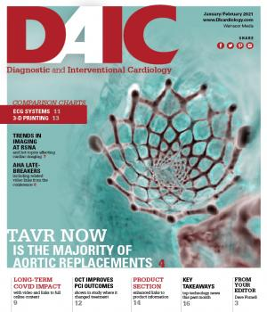 Diagnostic and Intervcentional Cardiology Magazine, DAIC, covers new cardiac technologies and trends. The Editor is Dave Fornell.