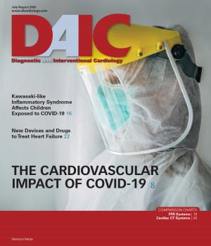 The July-August 2020 issue of DAIC magazine. Diagnostic and Interventional Cardiology magazine is edited by Dave Fornell. #COVID19 #SARSCoV2