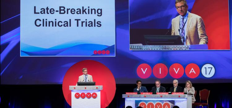VIVA 2017 late breaking clinical trials