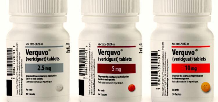 Verquvo, Vericiguat, Heart failure drug.